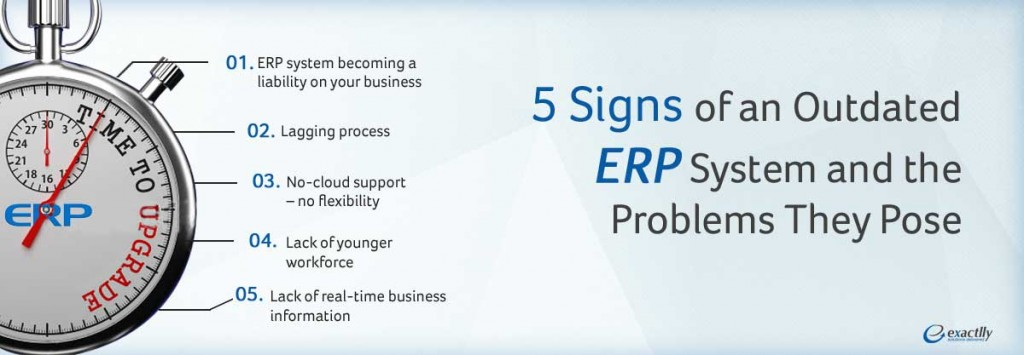 Outdated ERP system