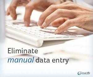 Eliminate manual-data entry
