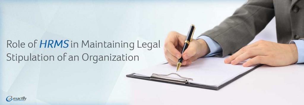 Legal stipulation