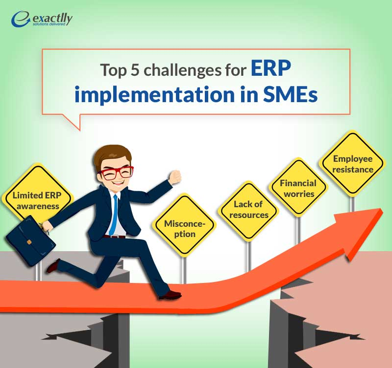 Top 5 challenges for ERP implementation in SMEs