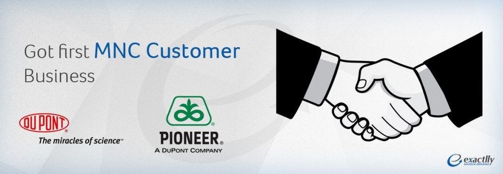 First MNC Customer Pioneer Inc – DuPont