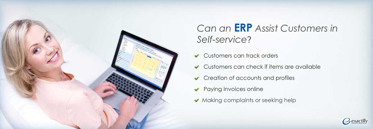 Customer self service