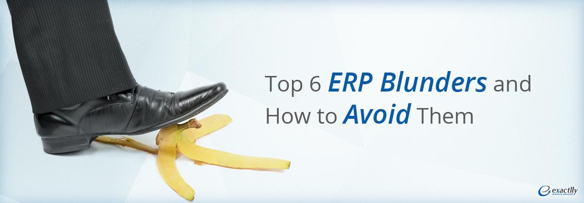 ERP blunders