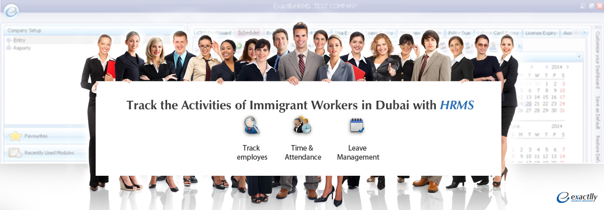 HRMS Immigrant workers