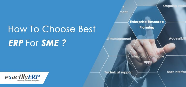 How to choose the best ERP for SME