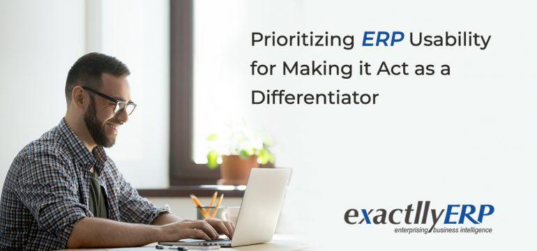 ERP Usability