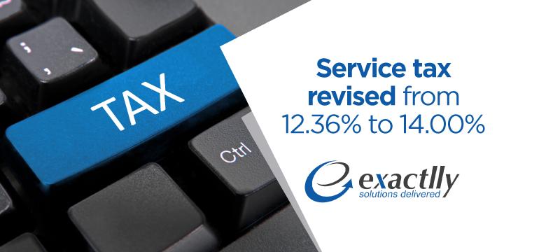 service-tax-revised-from-12.36%-to-14.00%